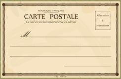 сбор винограда античной collectible открытки предмета почты родственный Стоковое Изображение