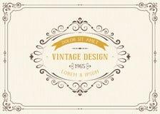 сбор винограда архива eps конструкции карточки 8 включенный Стоковая Фотография