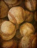 сбор винограда бейсбола предпосылки Стоковые Изображения RF