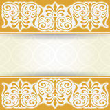 сбор винограда бумаги орнамента предпосылки геометрический старый Стоковые Фото