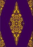 сбор винограда бумаги орнамента предпосылки геометрический старый Стоковые Фотографии RF