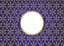 сбор винограда бумаги орнамента предпосылки геометрический старый Пробел для сообщения Стоковые Фотографии RF
