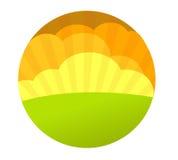 сбор винограда вектора предпосылки Стоковое Изображение