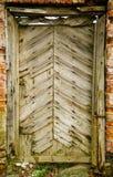 сбор винограда дверей старый Стоковые Изображения