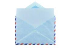 сбор винограда габарита предпосылки воздушной почты grungy бумажный Стоковые Фото