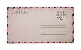 сбор винограда габарита предпосылки воздушной почты grungy бумажный Стоковая Фотография RF