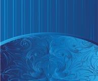 сбор винограда картины золота предпосылки голубой Стоковая Фотография