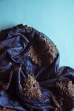 сбор винограда картины золота предпосылки голубой Стоковые Фотографии RF