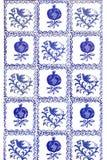 сбор винограда картины мозаики безшовный Стоковая Фотография