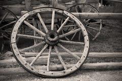 сбор винограда колеса телеги Стоковое Изображение RF