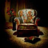 сбор винограда кресла Стоковое Фото