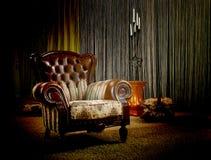 сбор винограда кресла Стоковая Фотография RF