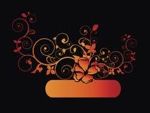 сбор винограда листва золотистый Стоковые Изображения