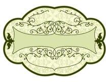 сбор винограда продукта ярлыка Стоковые Фото