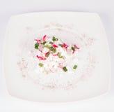 сбор винограда плиты коттеджа cheesecloth сыра свежий handmade вися органический Стоковые Фото