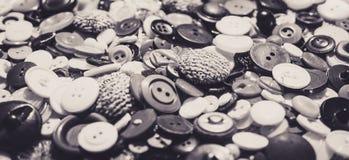 сбор винограда ресторана интерьеров девушки способа старый Комплект старых кнопок портноя Стоковая Фотография