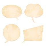 сбор винограда речи бумаги собрания пузыря Стоковое Фото