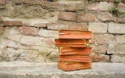 сбор винограда стога книг Стоковые Изображения