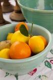 сбор винограда столетия шаров керамический средний смешивая Стоковая Фотография