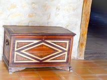 сбор винограда случая коробки ковчега деревянный стоковые изображения