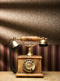 сбор винограда телефона предпосылки красивейший старый Стоковое Изображение