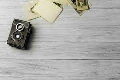 сбор винограда фото камеры старый Стоковое фото RF
