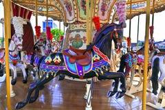 сбор винограда Франции paris carousel принятый фото Стоковое Фото