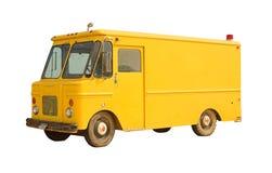 сбор винограда фургона поставки Стоковые Изображения