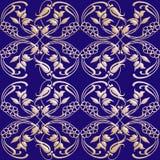сбор винограда флористической картины безшовный Стоковое Фото