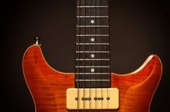 сбор винограда электрической гитары Стоковая Фотография RF