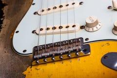 сбор винограда электрической гитары Стоковые Фото