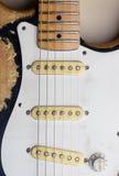 сбор винограда электрической гитары Стоковые Фотографии RF