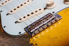 сбор винограда электрической гитары Стоковое Изображение