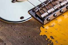 сбор винограда электрической гитары Стоковое фото RF