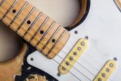 сбор винограда электрической гитары Стоковая Фотография