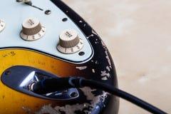 сбор винограда электрической гитары Стоковое Фото