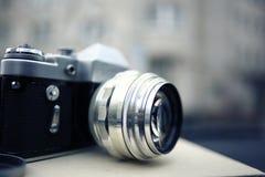 сбор винограда slr камеры 35mm стоковая фотография