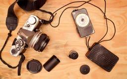 сбор винограда slr камеры 35mm Стоковые Фотографии RF