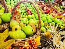 Сбор осени плодоовощ Стоковая Фотография RF