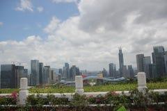 Сбрасывать город Шэньчжэня Стоковые Изображения