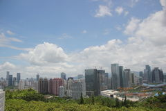Сбрасывать город Шэньчжэня Стоковое Изображение RF