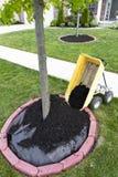сбрасывать mulch Стоковые Изображения RF