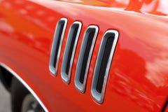 Сбросы обвайзера автомобиля мышцы Стоковое Фото