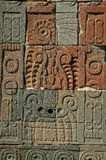 Сбросы Teotihuacan, Мексики Стоковое Фото