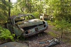Сброс автомобиля в Kirkoe Mosse Стоковое Изображение