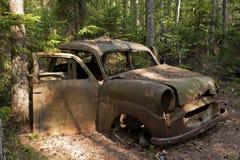 Сброс автомобиля в Kirkoe Mosse Стоковые Изображения RF