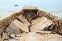 Сброс давления моста стоковое фото rf