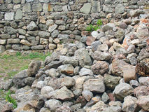 Сброс давления старой стены Стоковые Фотографии RF