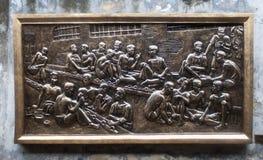 Сброс въетнамских пленников Стоковые Изображения RF