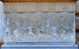 Сброс в дворце Карла V, Гранаде, Испании Стоковые Изображения RF